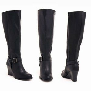 Torrid - Knee high wedge boots
